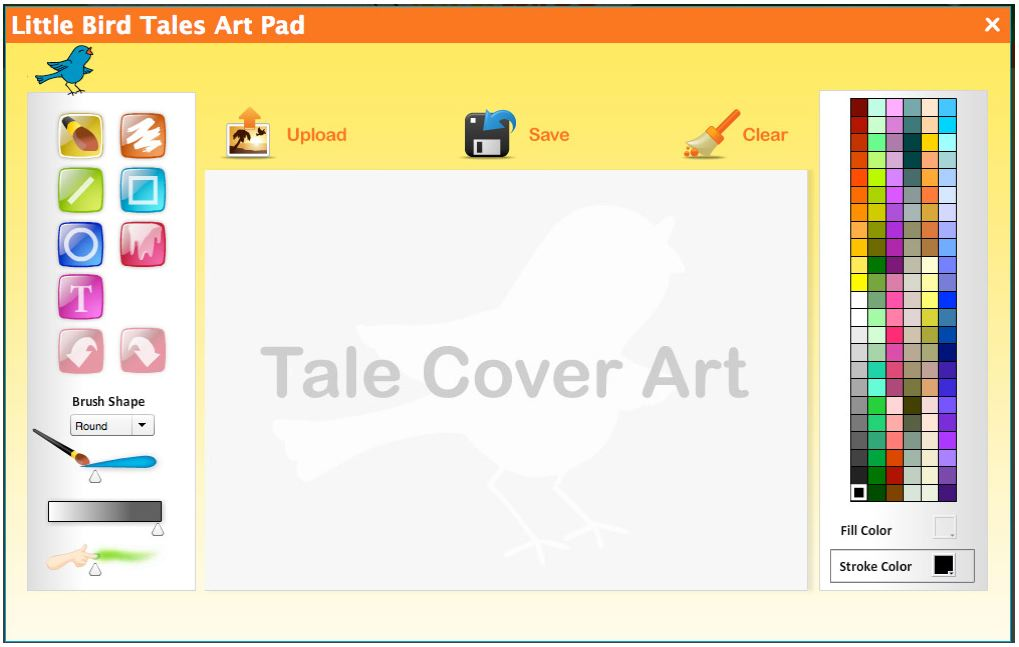 Little bird tales launches online service for kids to for Draw online share