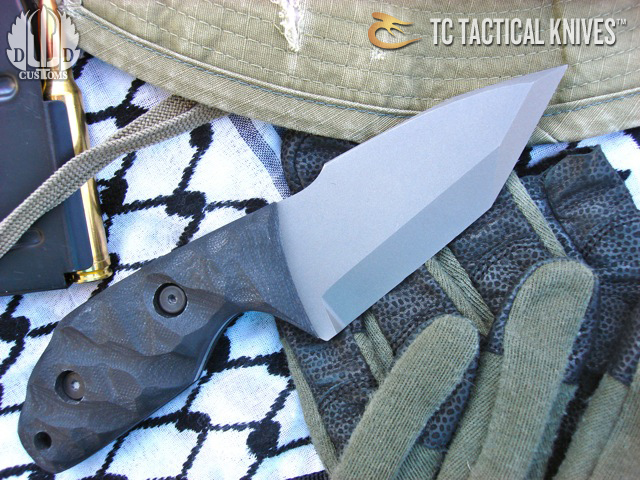 Tom Clarke Titanium Knives