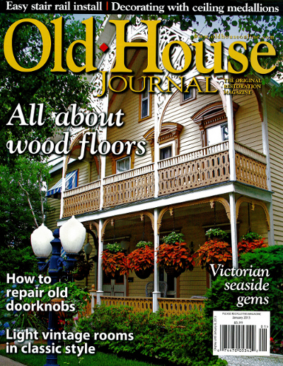 The cover of the January 2013 issue of Old House Journal.