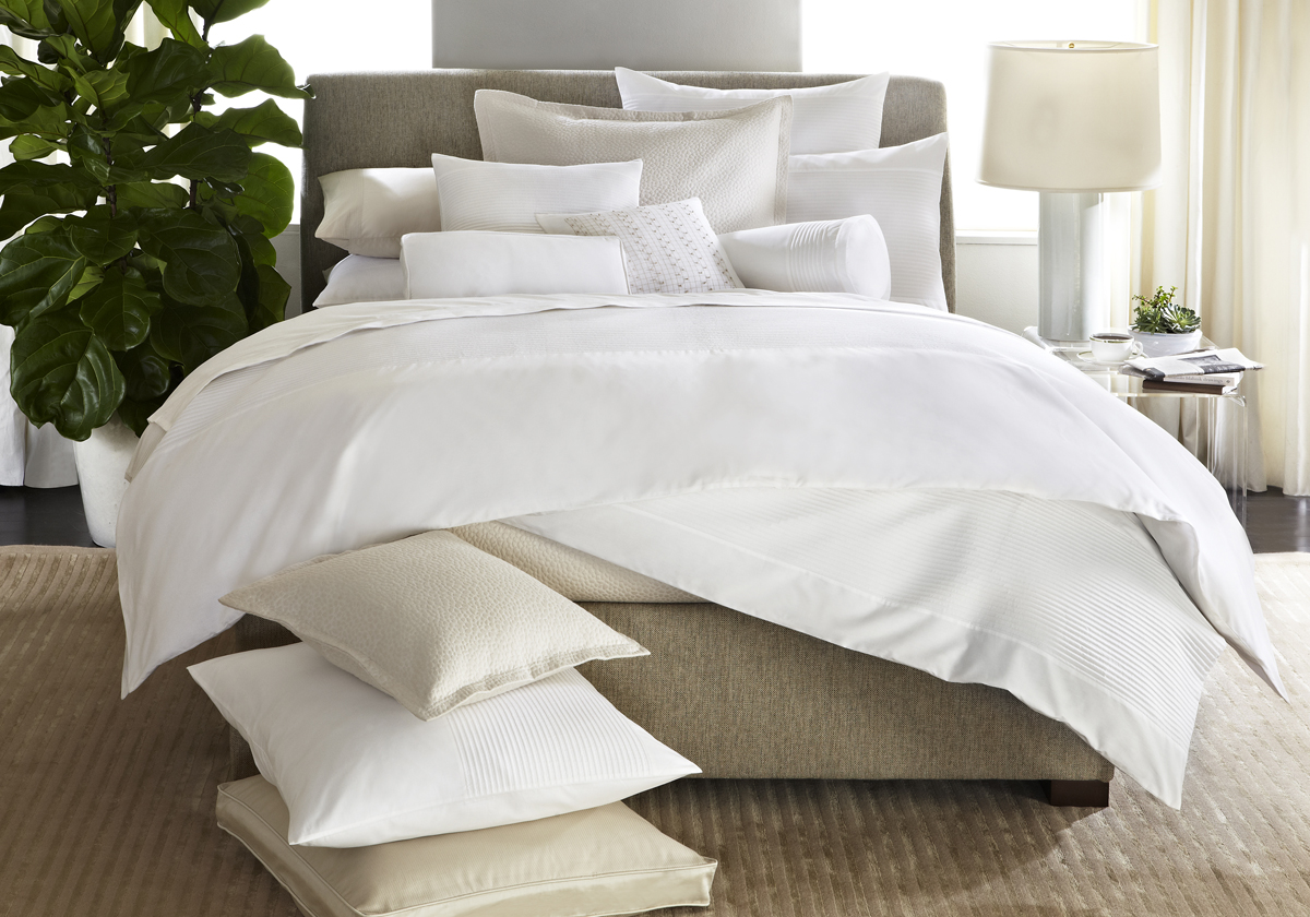 SIMPLICITY STITCH bed, Barbara Barry Dream Spring 2012 collection.  Photo credit:  Courtesy of Barbara Barry Inc.