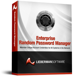 Lieberman Software's Enterprise Random Password Manager