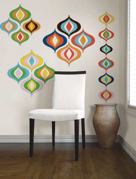 Jonathan Adler for WallPops Bargello Wave Kit, approx. $35.99 each.
