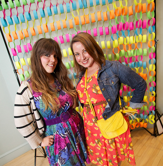 Amy Chase (left) and Melissa Massello (right), co-founders of The Swapaholics (www.theswapaholics.com)