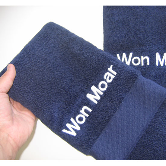 Boat Name Hand Towels