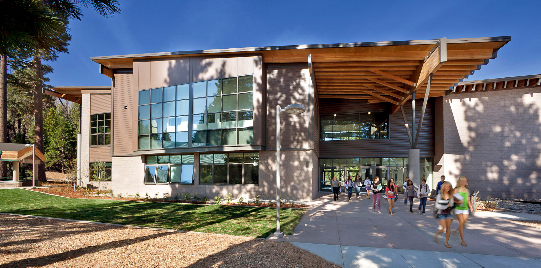 The oscars of california school architecture for Tahoe architects