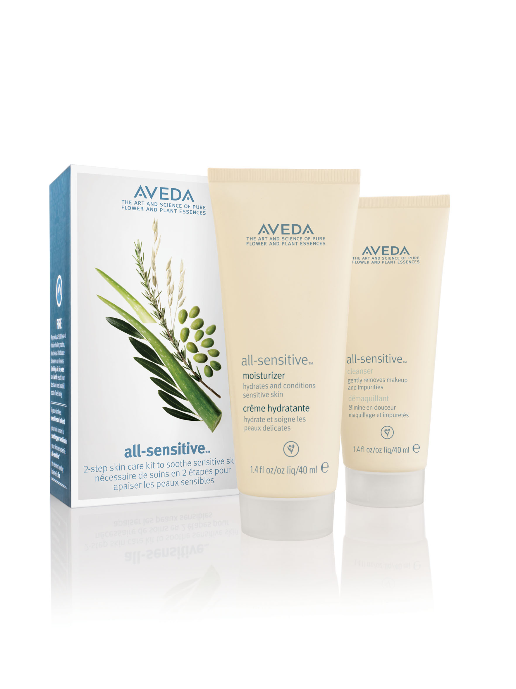 Aveda All Sensitive Skin Care Starter Set