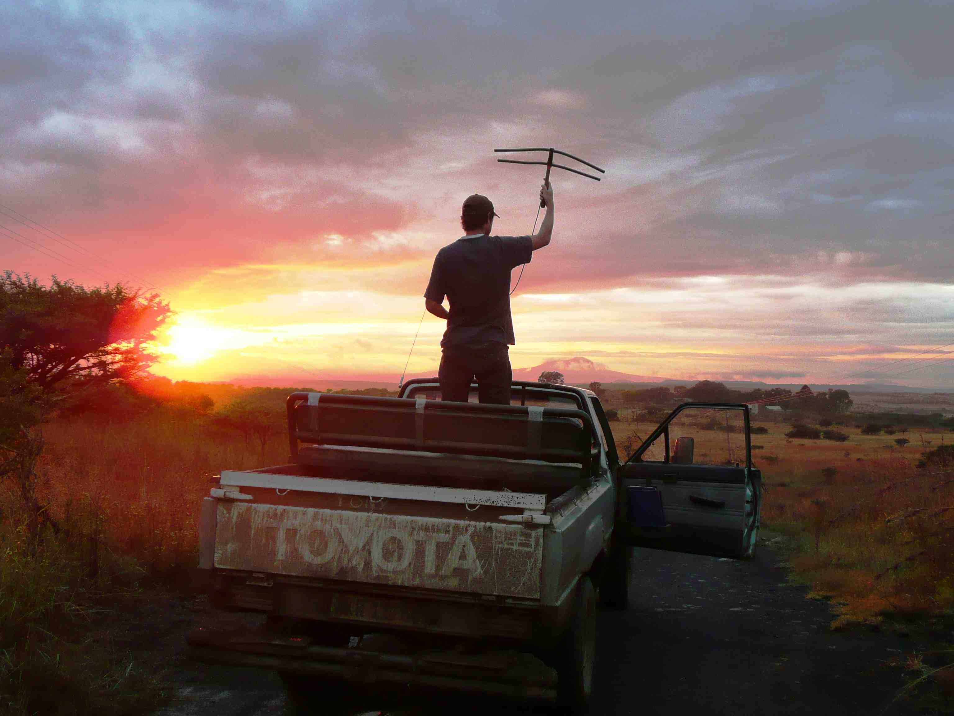 GVI's interns enjoy African sun rises in amazing nature conservations. Photo credit: GVI