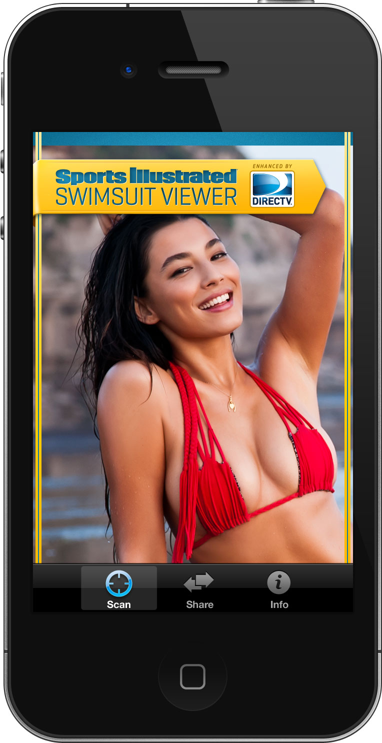 The 2012 SPORTS ILLUSTRATED Swimsuit Issue Features a Nellymoser-powered mobile campaign and digital watermarking technology from Digimarc Technology.