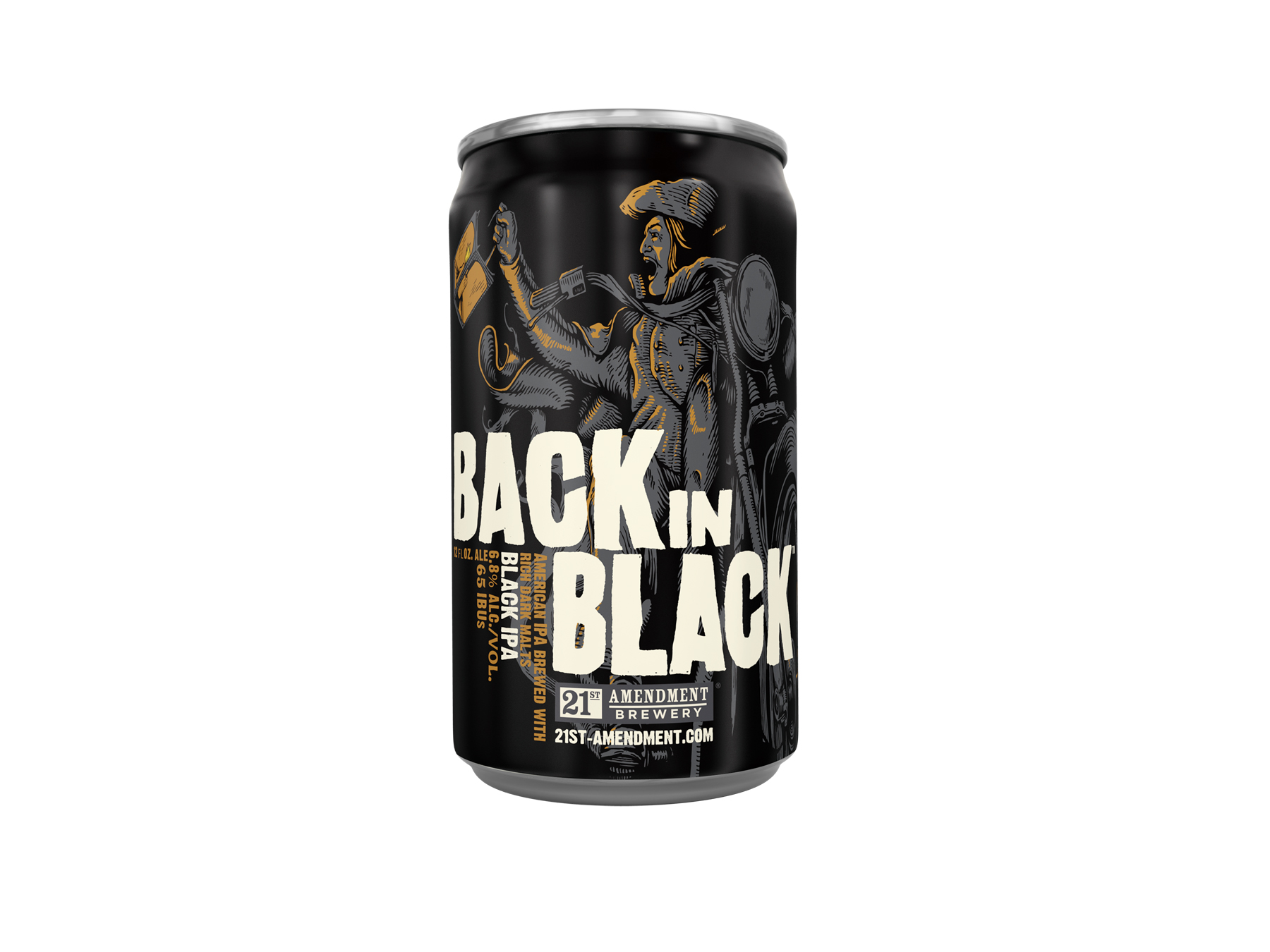 Black is Back and 21st Amendment Brewery is Back in Black!