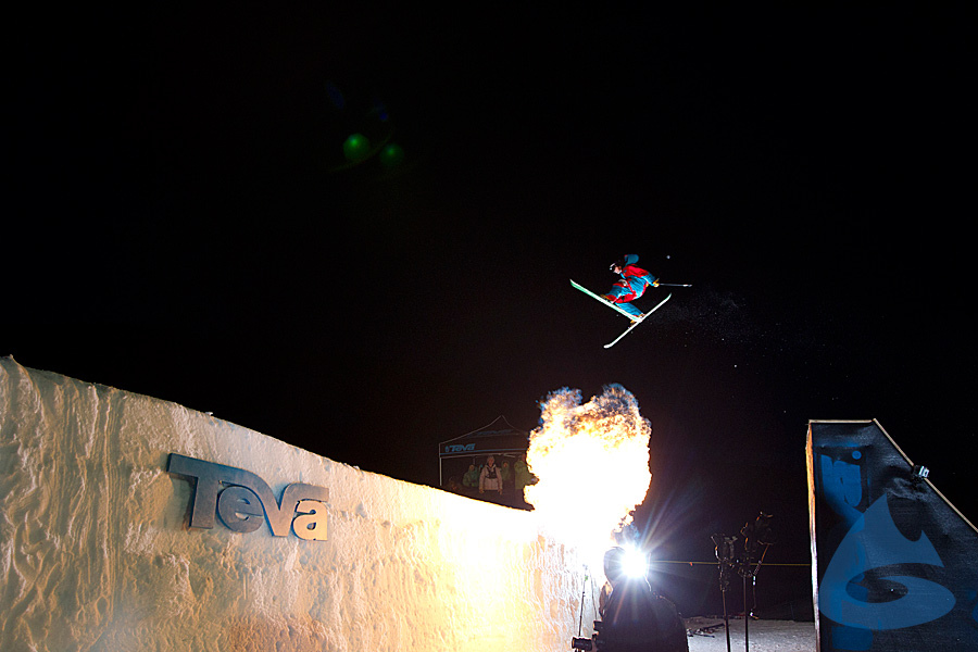 Telemark Big Air Contest at the 2012 Winter Mountain Games