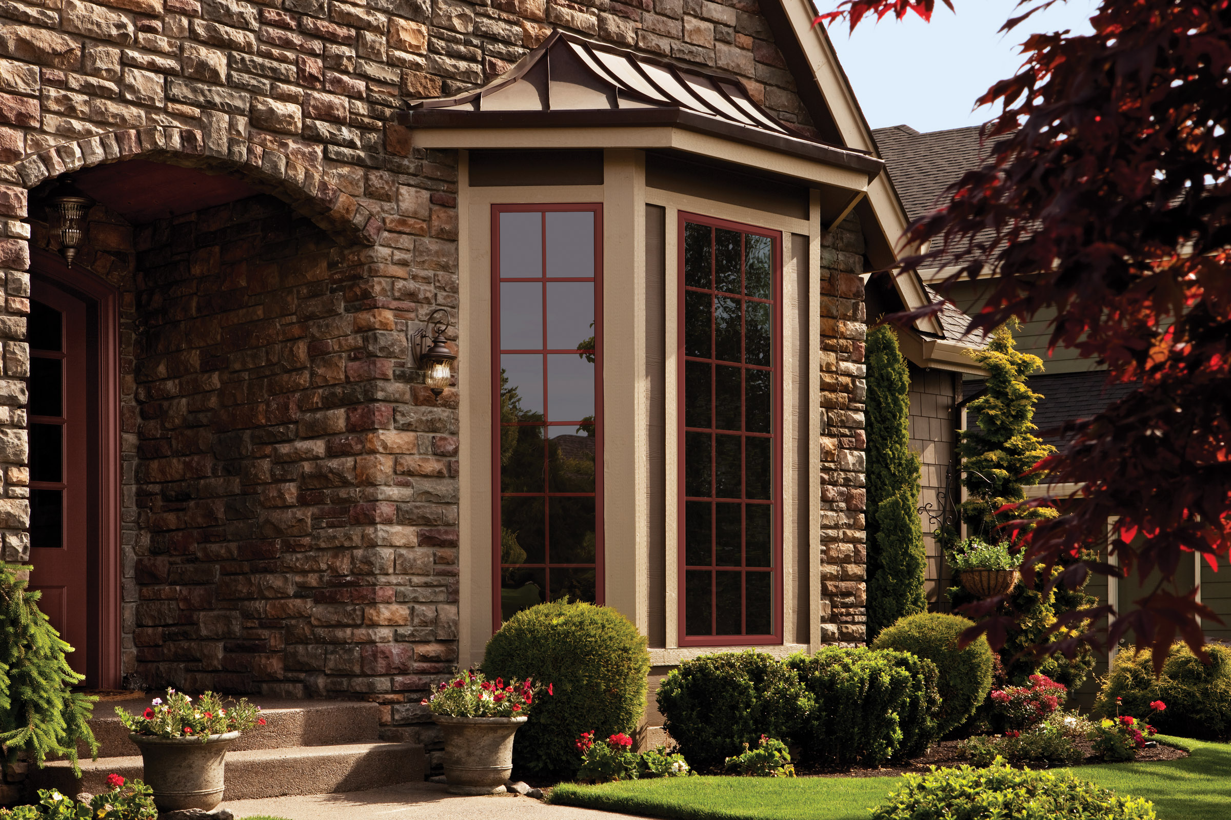 Alside offers more design options with frameworkst window for Window design outside