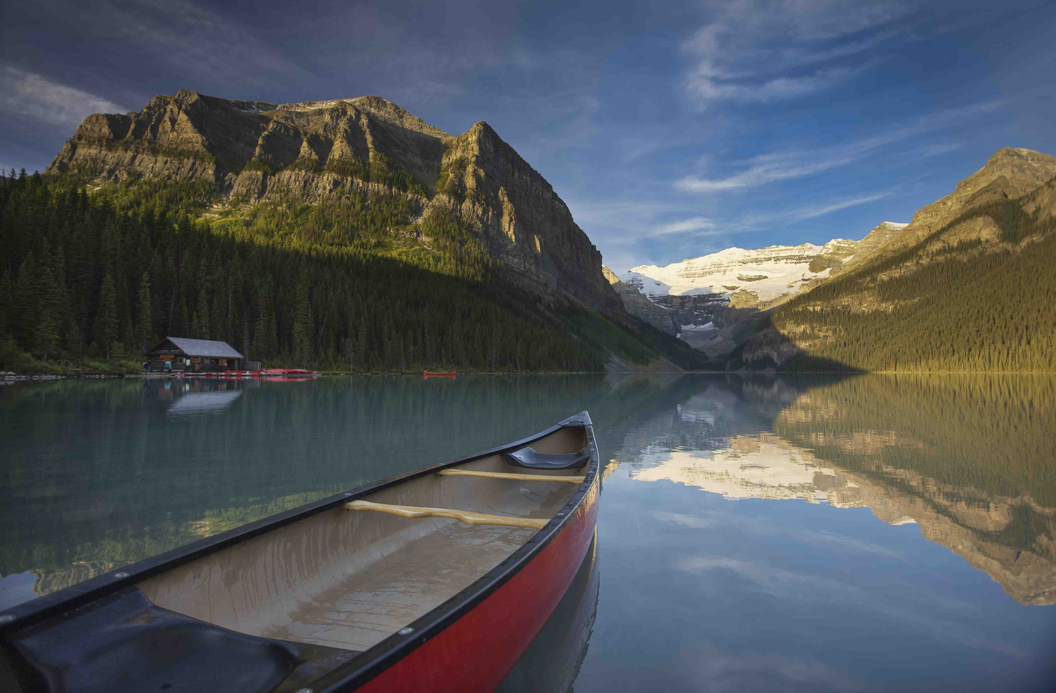 Find your own secluded lake in Banff's National Park (EnjoyBanff.com) Photo credit: Paul Zizka, Banff Lake Louise Tourism