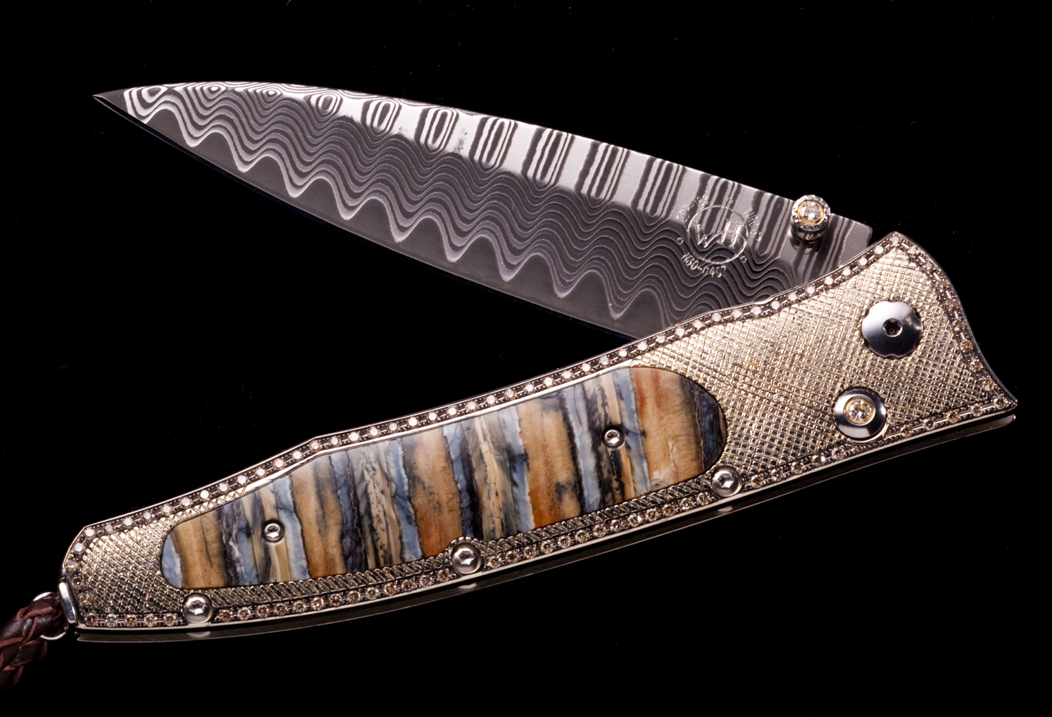 The B30 'Gentac' inlaid with fossil Mammoth and 197 brown diamonds (2.054K)