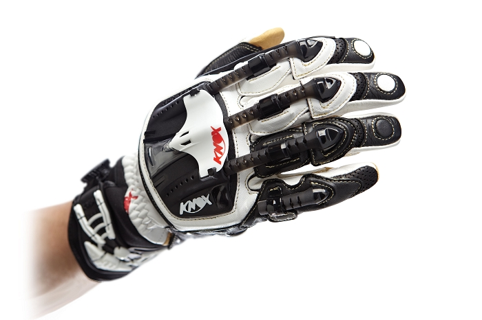 The Knox Handroid motocross glove with Boa Closure System on the wrist.