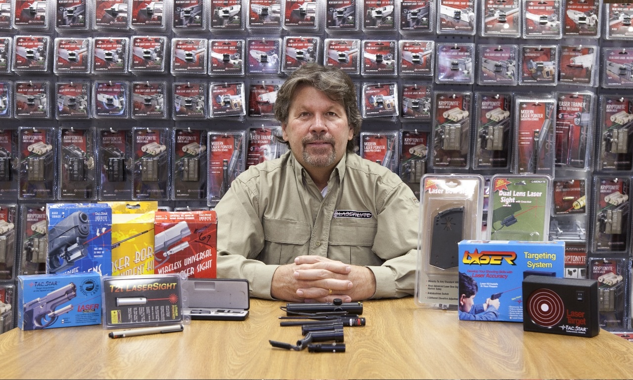 LaserLyter Founder, Larry Moore, led the way 25 years ago for lasers in the shooting sports industry.