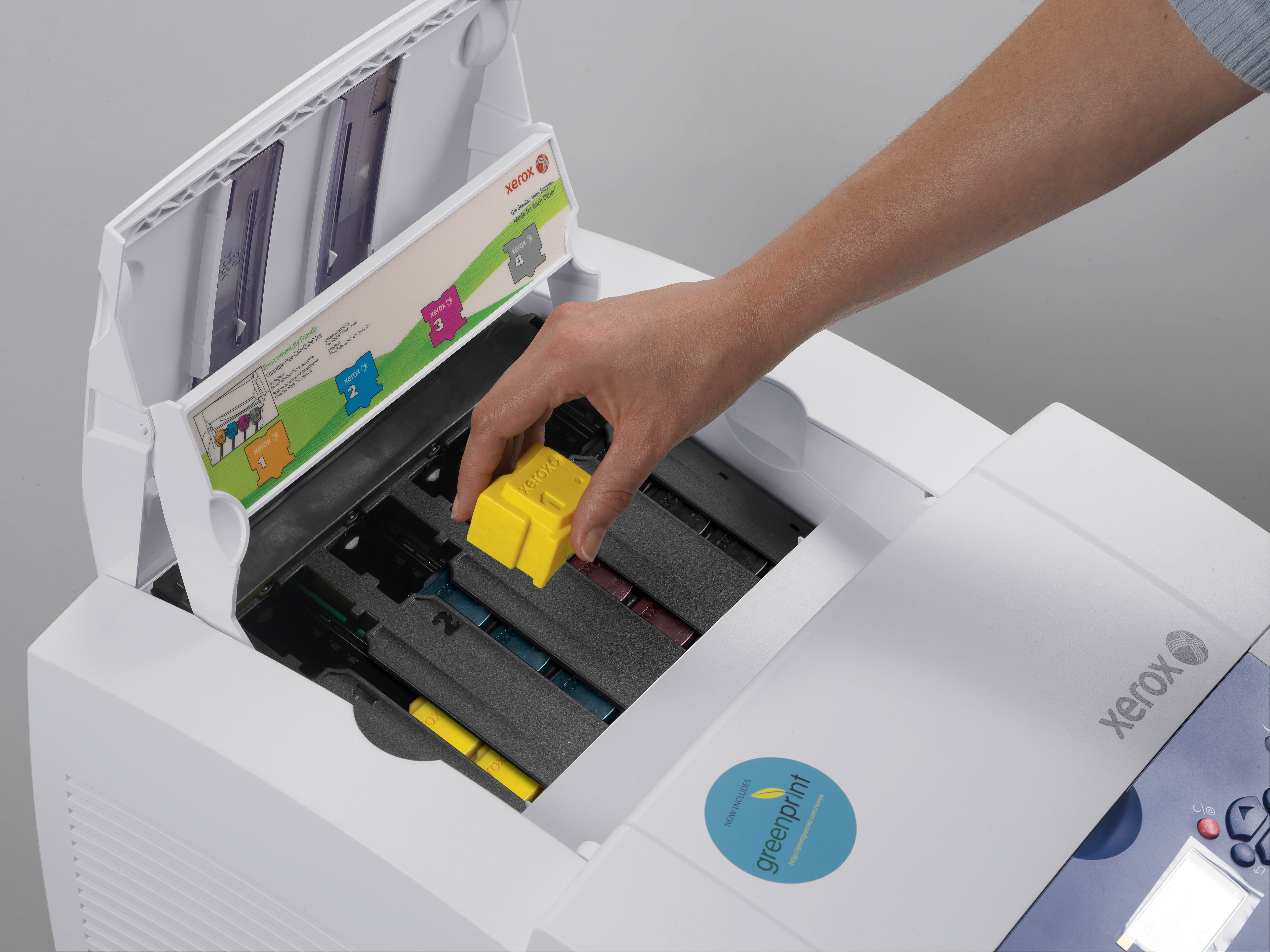 xerox keeps color affordable with new colorqube desktop solid ink