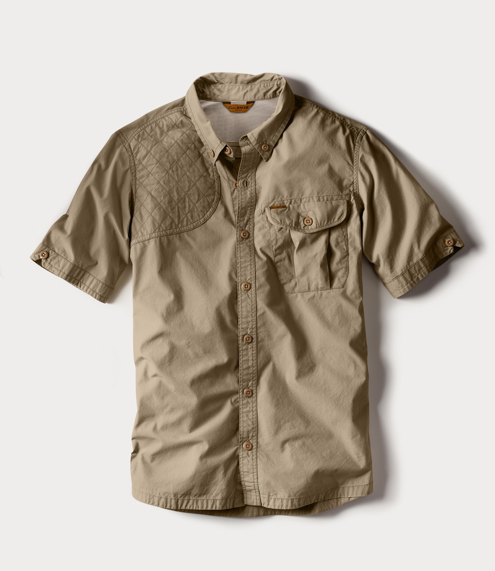 M's Palouse Short-Sleeve Shooting Shirt - Tan