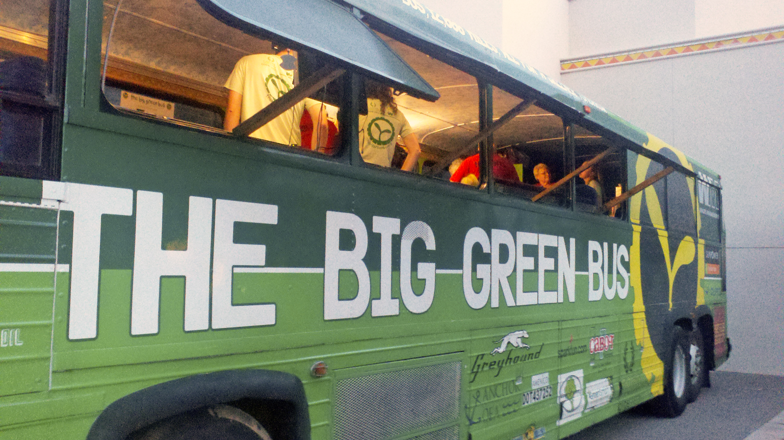 Big Green Bus at Harrah's Ak-Chin Casino Resort in Maricopa, Ariz.