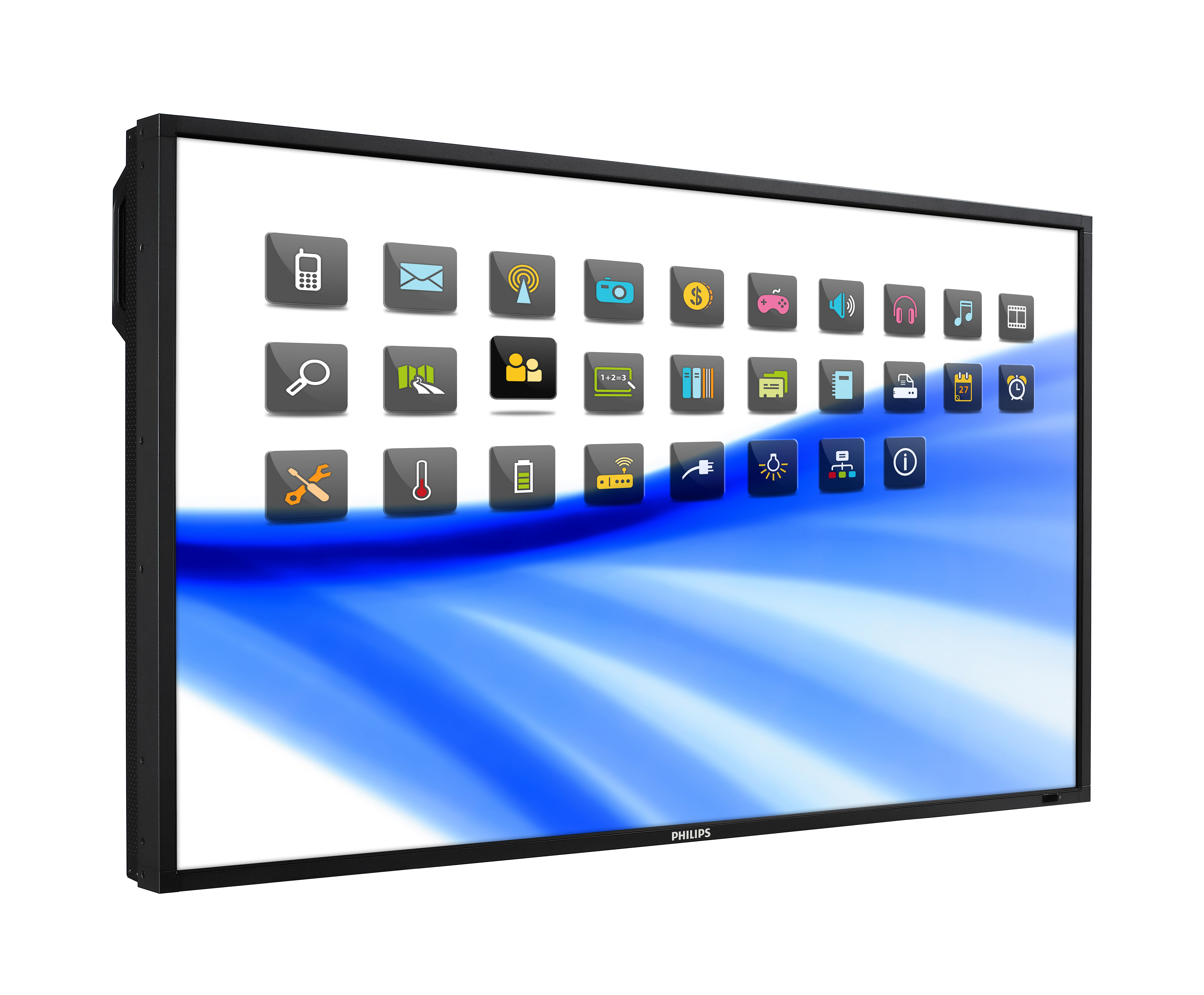 "55"" Dual-Touch HD LCD Display (BDL5571DT/27)"