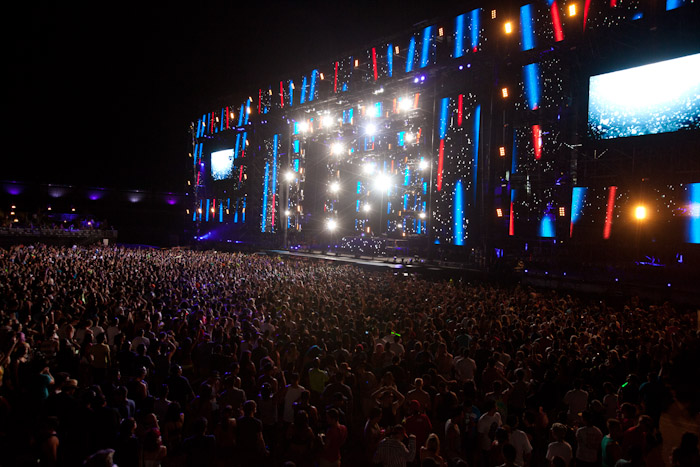 15th Annual Electric Daisy Carnival was held in Las Vegas in June 2011. The three-day festival will return to Las Vegas Motor Speedway in June 2012.
