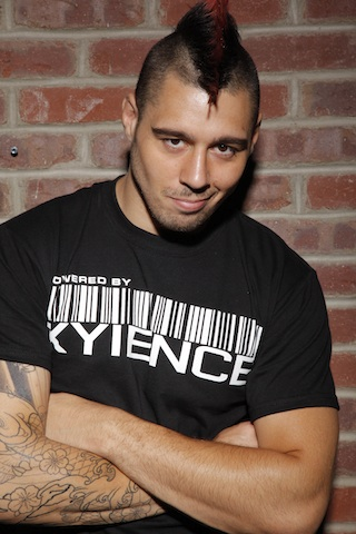 "UFC fighter, XYIENCE athlete & artist, Dan ""The Outlaw"" Hardy"