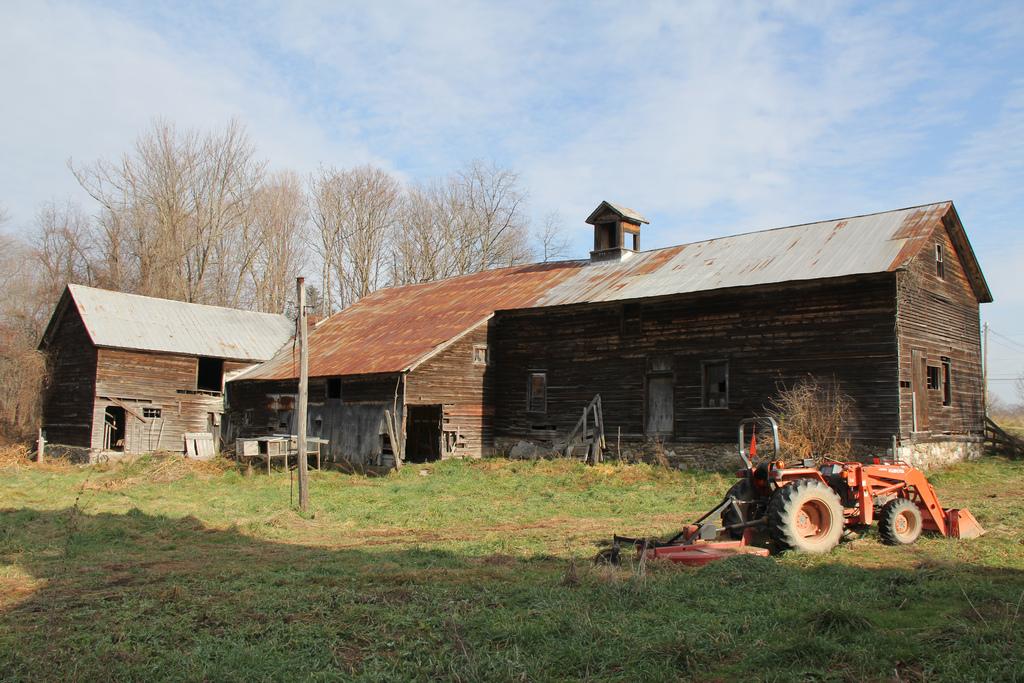 Catskill Animal Sanctuarys New Farm Consist Of 3 Barns A House And 32 Acres