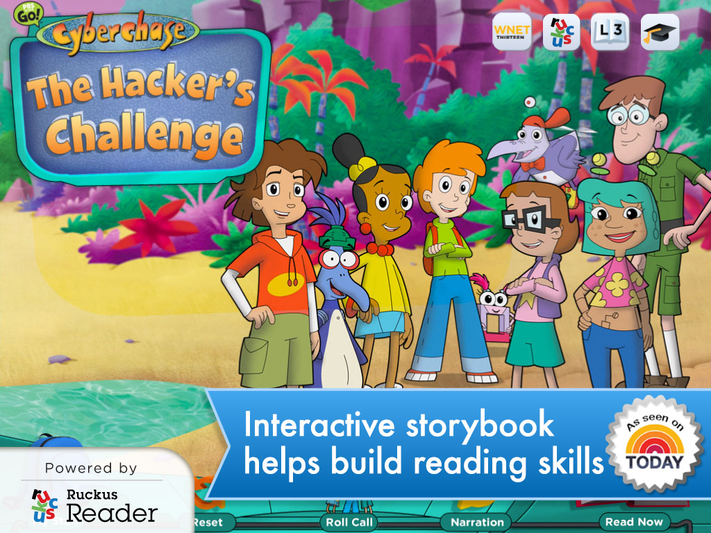 The Hacker's Challenge iReader (free download)