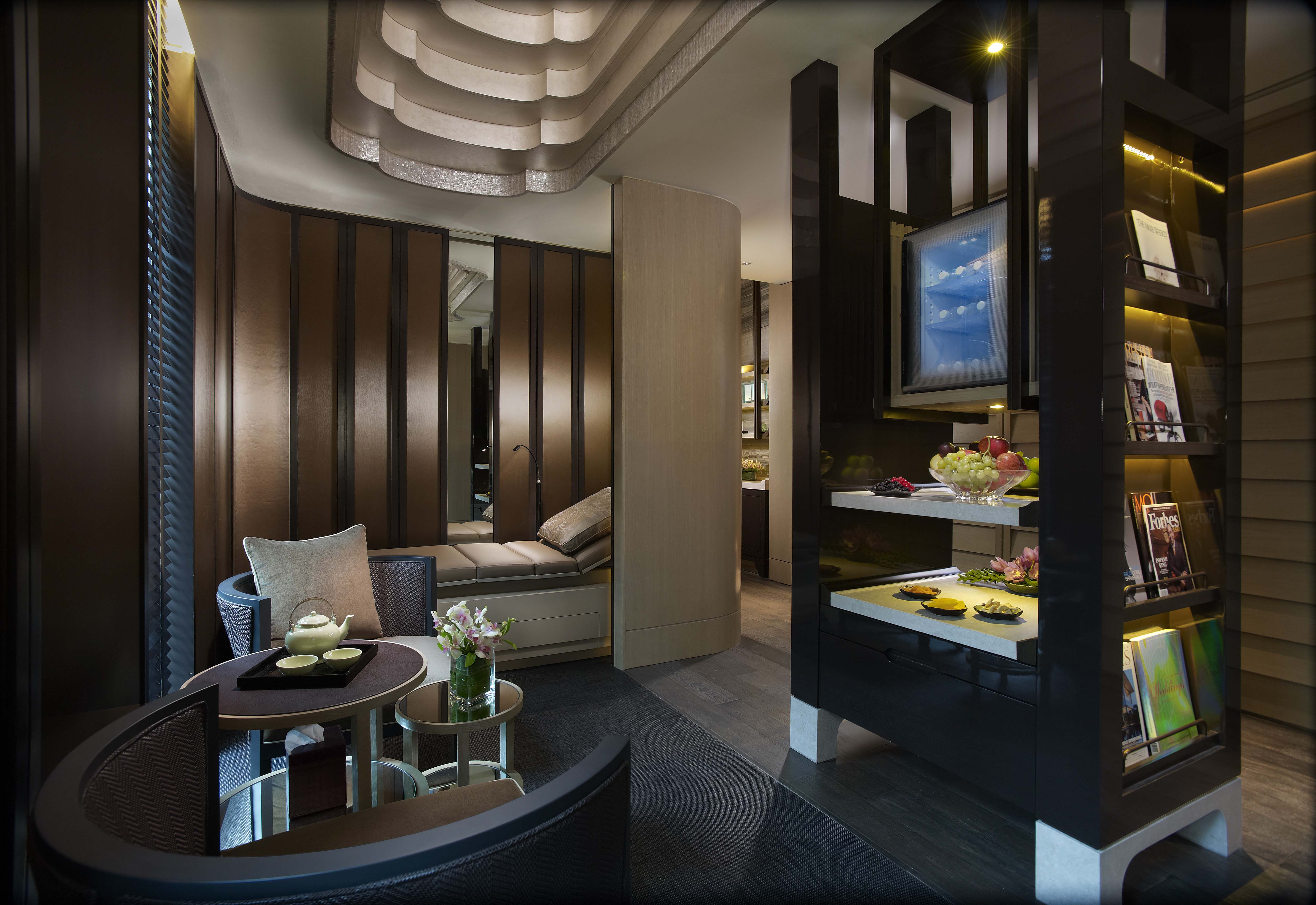 Mandarin oriental singapore unveils a luxurious new for Oriental furniture singapore