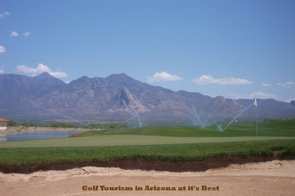 Canoa Ranch - one of Arizona's golf tourism ambassadors.