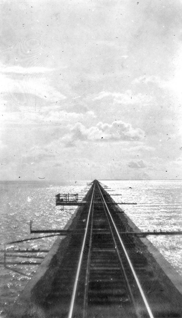 Florida East Coast Railway tracks