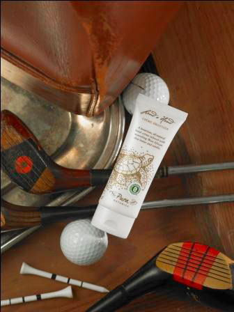 "Lend a Hand Creme is fast becoming a ""must have"" in men's golf bags."
