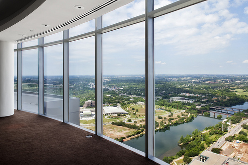 View from the 55th floor of The Austonian. Photo credit Thomas McConnell
