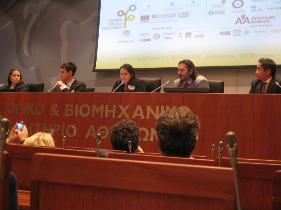 Panel at Greece Entrepreneur Week