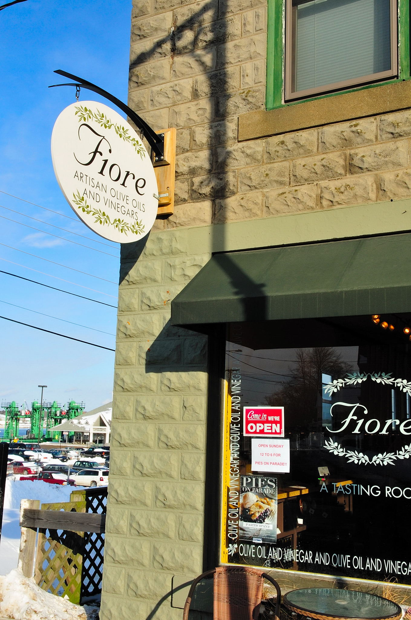 A visit to FIORE Artisan Olive Oils and Vinegars in Rockland, ME is one of the many stops you'll make during the Savor the Flavor tasting tour.