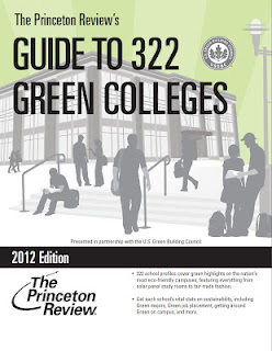 Princeton Review Guide to 322 Green Colleges Book Cover