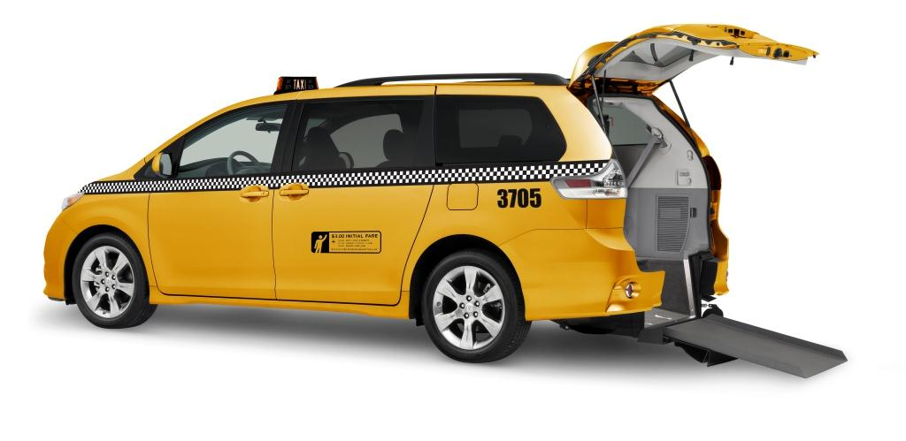 New 2012 Viewpoint Toyota Sienna NYC Taxi Conversion