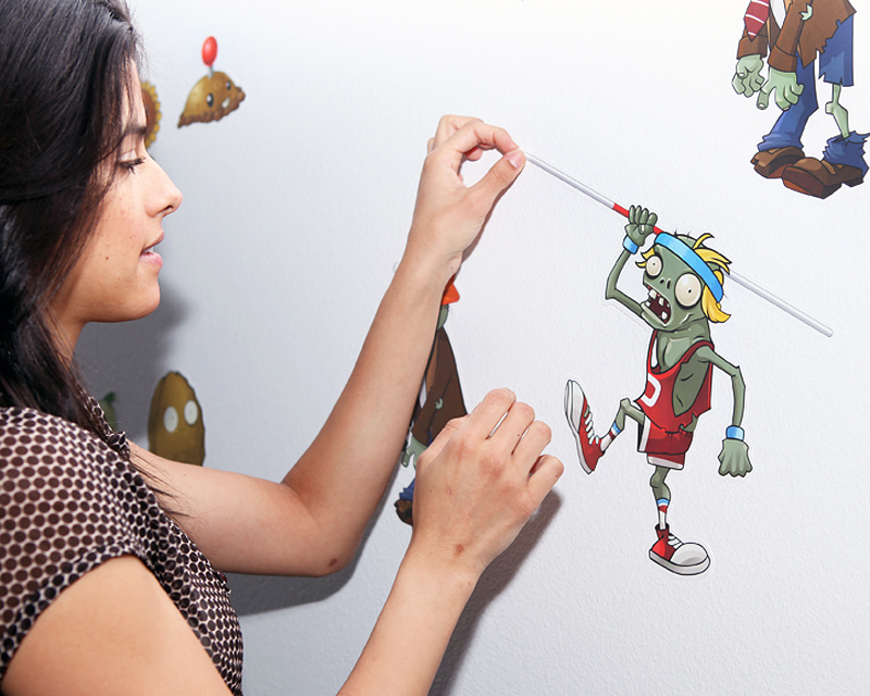 Plants vs. Zombies: Wall Graphics from WALLS 360