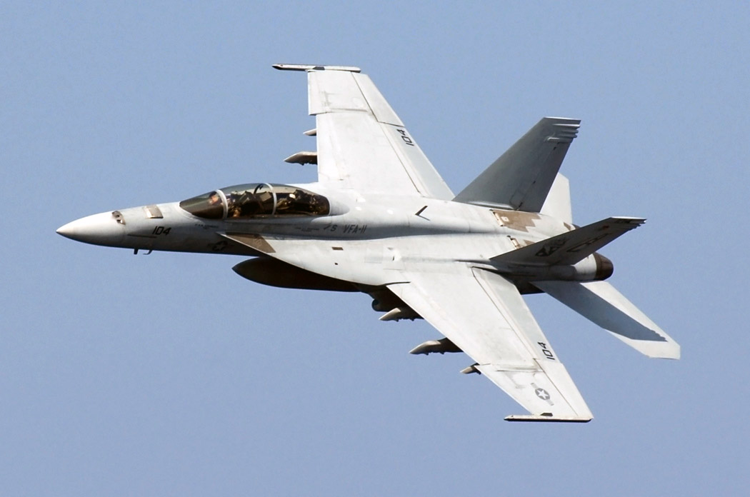 U.S. Navy F/A-18 Super Hornet Demonstration Team