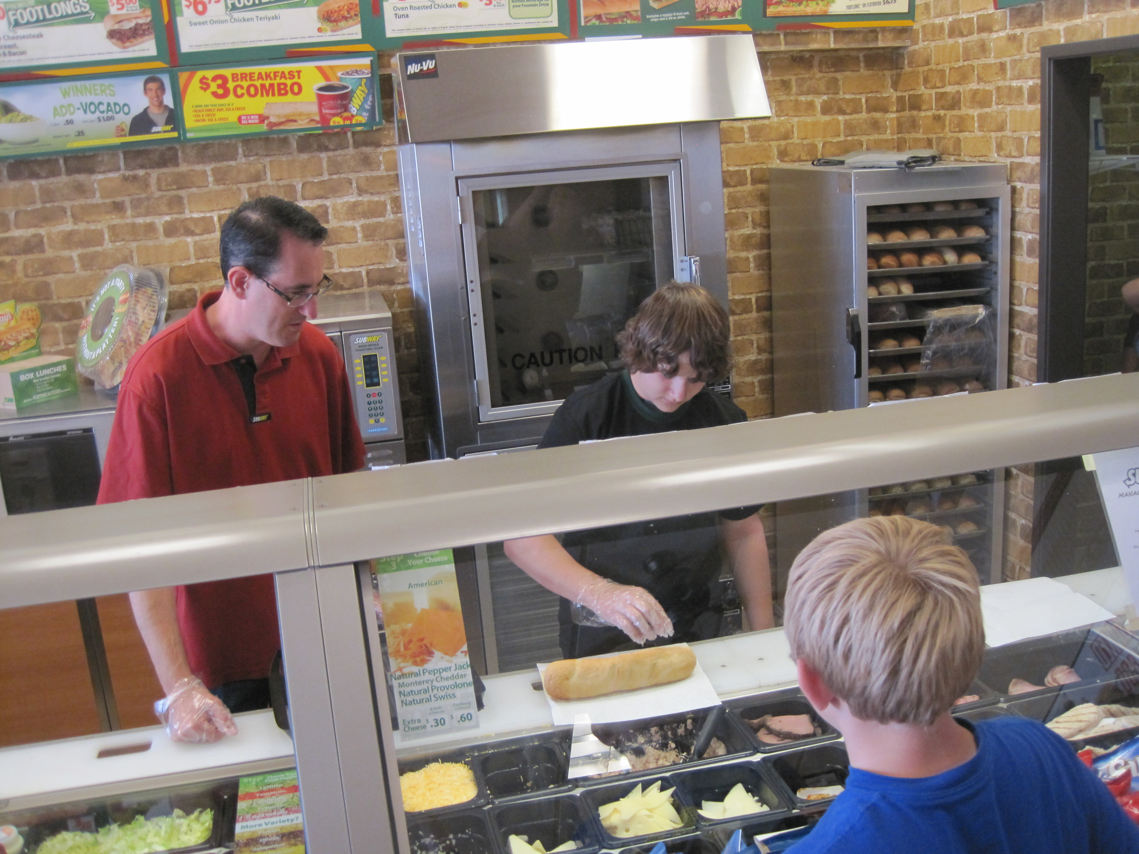 "Surprise teen becomes ""celebrity sandwich artist"" when he takes over local Subway restaurant."