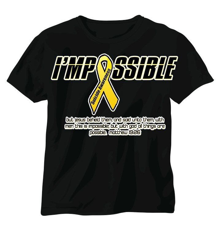 I'mpossible t-shirts