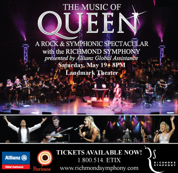 Allianz Global Assistance USA is the presenting sponsor for the Richmond Symphony's The Music of Queen, A Rock & Symphonic Spectacular.