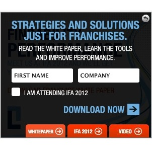 Franchise Marketing White Paper in SpongeCell Display Ad