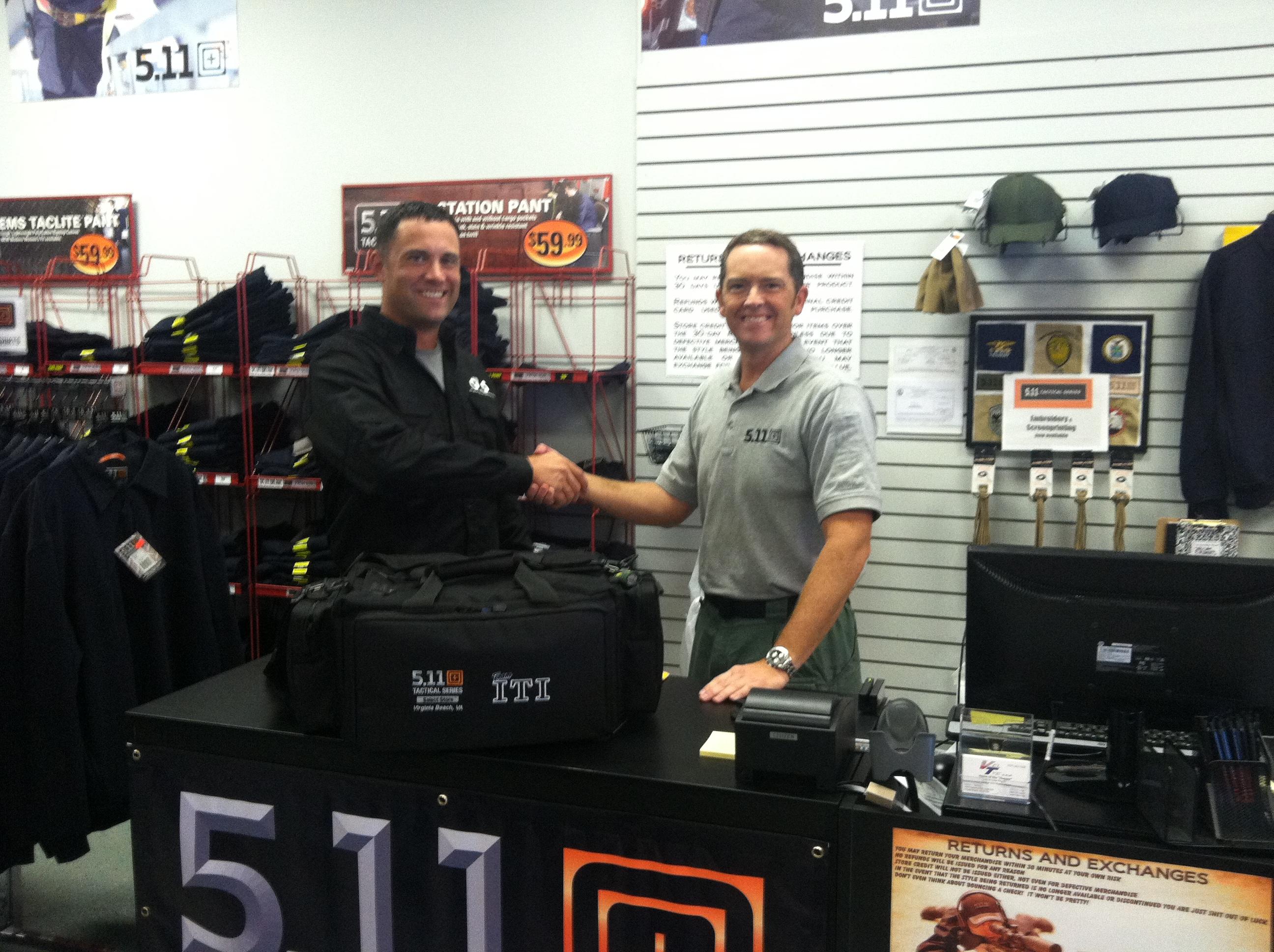 Brandon Wright L Team Iti Captain And Senior Firearms Instructor For Gs Iti