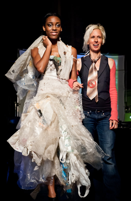Nothing is wasted on Marina DeBris' Trashion Fashion -- to be featured at Avant-Green LA