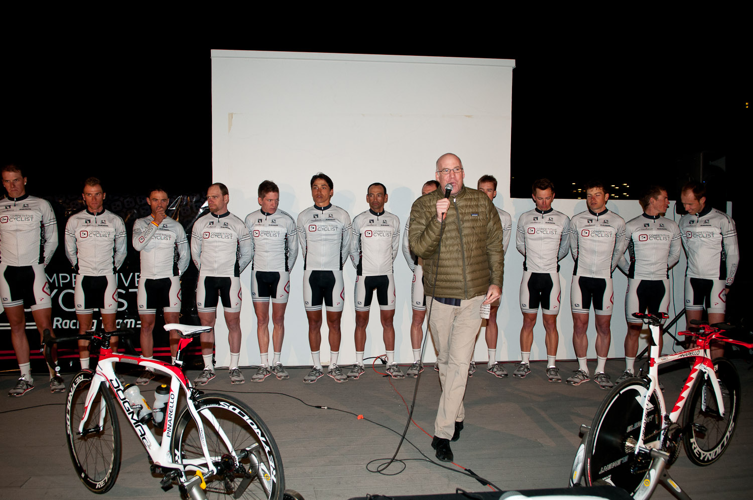 Official Competitive Cyclist Racing Team presentation in downtown Tucson. 