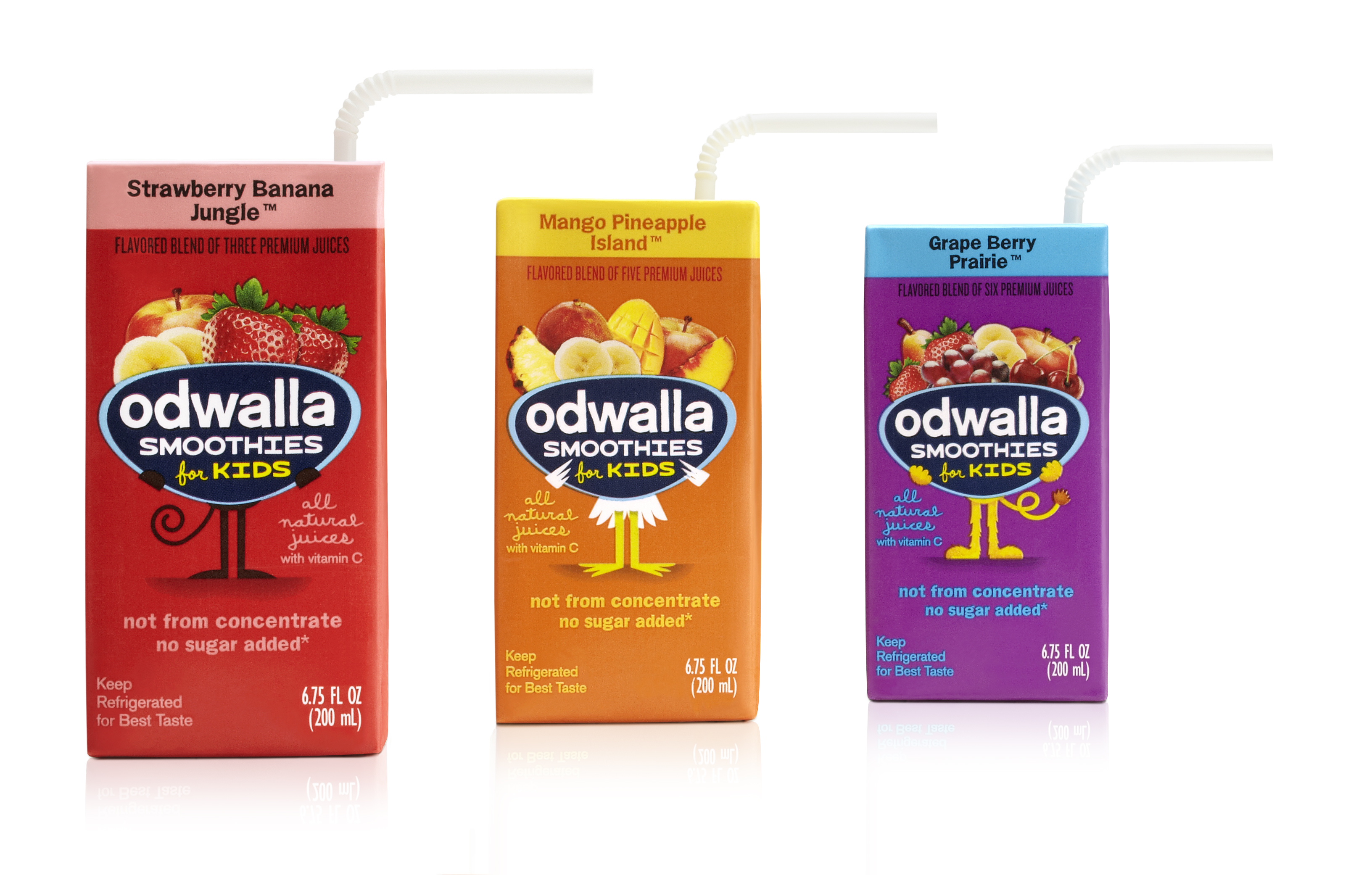 New Odwalla Smoothies For Kids