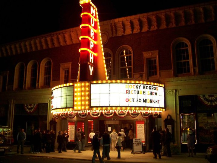 "Visitors to Wilmington will recognize the monstrous, old-fashioned marquee of the Murphy Theatre, where portions of the 1993 movie ""Lost in Yonkers"" were filmed."