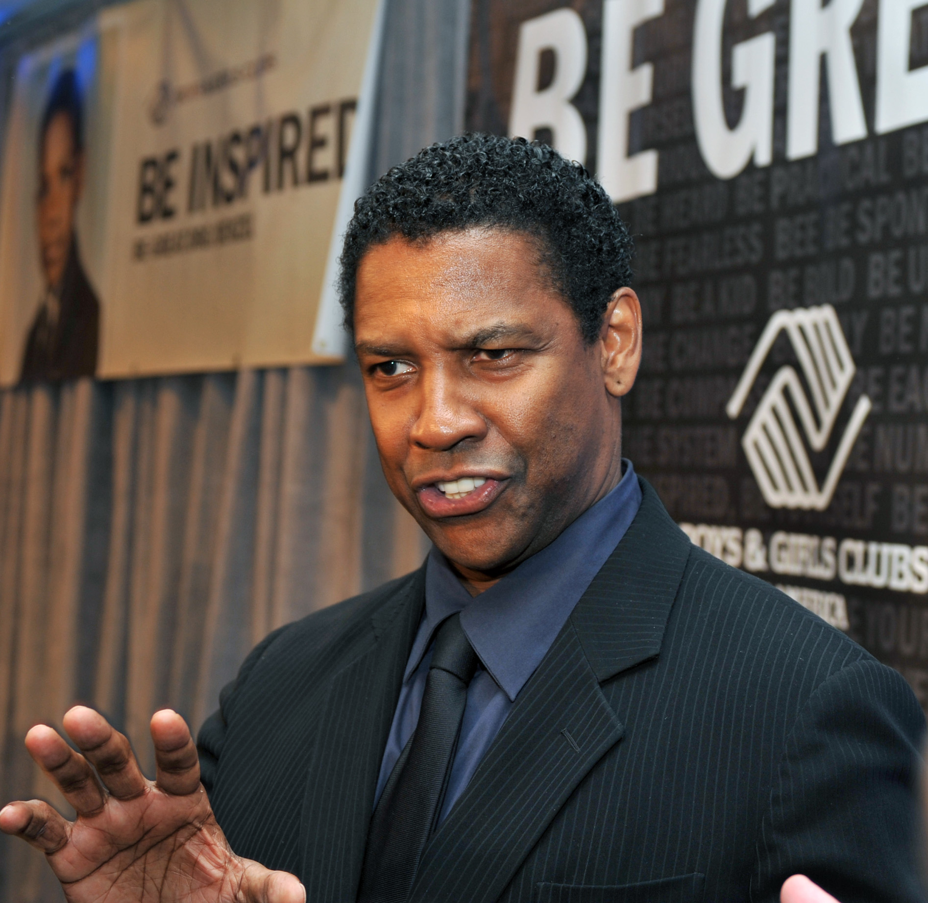 Denzel Washington, National Spokesperson for Boys & Girls Clubs of America