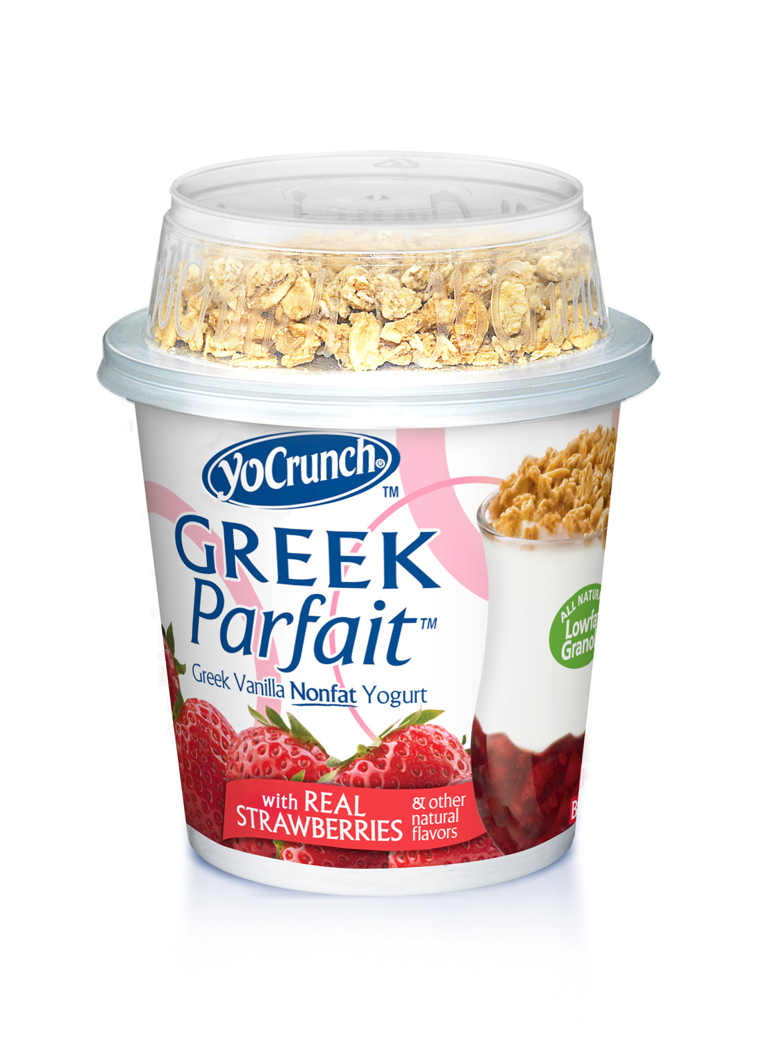 Greek Parfait - Strawberry